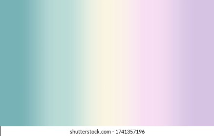 Pastel pink violet turquoise green yellow colors in gradient blurred pattern colorful scheme. Fresh light spring color combination, fashion lilac mint trends. Suitable for backgrounds and printing.