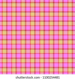 Pastel seamless checked tartan cloth textile fabric texture pattern