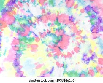 Pastel Tie Dye Splatter Printing. Pastel Trendy Watercolour Print. Artistic Dirty Illustration. Beautiful Tie Dye Dirty Art. Meditative Color Flow Wall. Pastel African Decoration Poster.