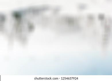 pastel trendy  winter blurred  background