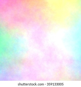 pastel watercolor or airbrush texture
