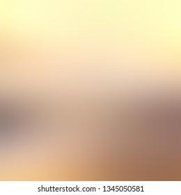 Pastel yellow beige gradient background. Light natural texture. Autumn landscape blurred illustration.