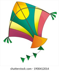 patang with picture of kite