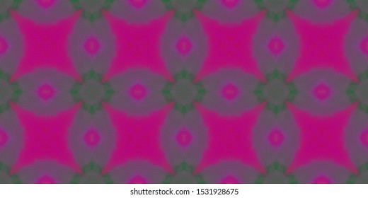 Patchwork Oriental. Amethyst Ikat Art Texture. Mulberry Art Deco Floor Tile. Mauve Flourish Tableware Mandala. Pink Magenta Modern Paint. Lilac Violet Fabric Border. Iris Pattern Native.
