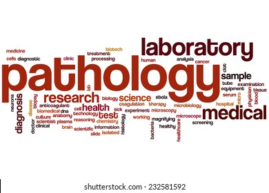 pathology word cloud concept stock illustration 232581592 shutterstock