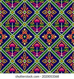 Patola digital patterns, Kalamkari digital designs, Bandini designs, Indian Traditional digital designs