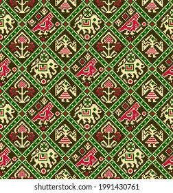 Patola, kalamkari and indian traditional designs,colourful patterns