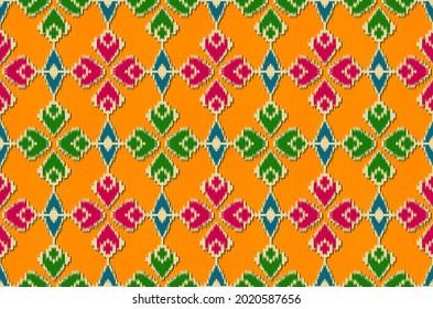Patola and Kalamkari Indian traditional Digital design patterns, Bandini and Mandala digital patterns