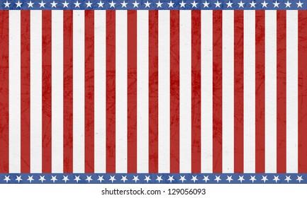 Patriotic 4th of July Background/Digital Paper