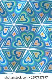 Patriotic design Argentina. Heart design cockades.