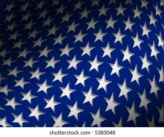 Patriotic Star Background