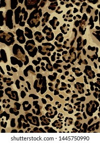 Patron de animal print ideal para prendas de moda o para decoracion de interiores