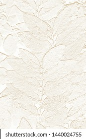 Pattern of abstract leaves ,embossed leaves can be use for wallpaper and usefulbackground
