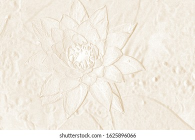 Pattern of abstract leaves,embossed leaves can be use for useful background