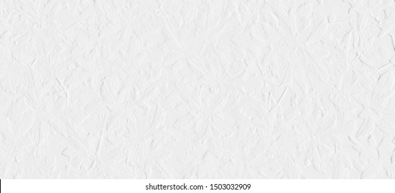 Pattern of embossed leaves with background grey