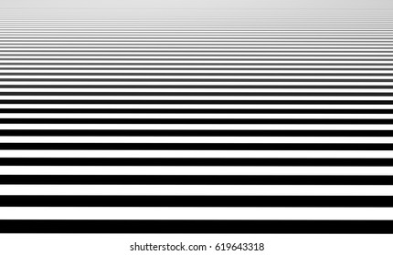 Pattern with horizontal lines