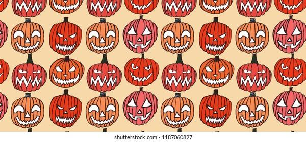 Creepy Halloween Pumpkin Drawings.Halloween Drawing Images Stock Photos Vectors Shutterstock