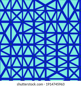 pattern with symmetric geometric ornament. 3d rendering, 3d illustration.