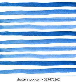 Pattern with watercolor stripes.