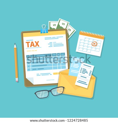 Payment of tax accounts