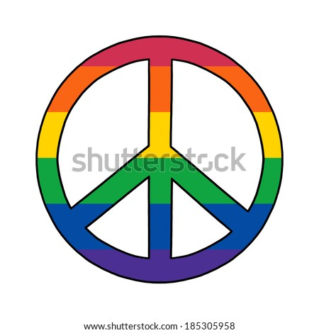 Rainbow symbol gay