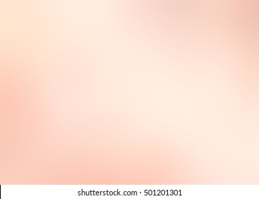 Peach cream abstract background. Blurred light texture.