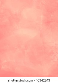 peachy pink soft marble illustration