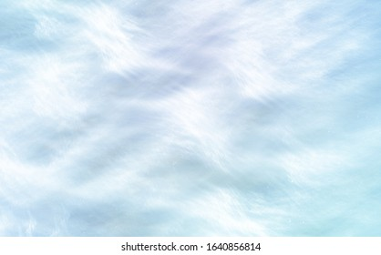 pearl holiday background. airy and translucent, light blue texture