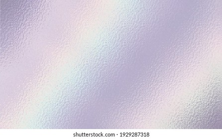 Pearlescent background. Holographic foil. Iridescent texture. Neon rainbow metallic gradient. Hologram effect. Sparkly silver metal texture. Design prints. Pearlescent pattern. Illustration