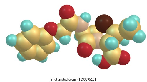 Penicillin or PCN or pen is a group of antibiotics which include penicillin G and benzathine penicillin for intramuscular use. 3d illustration