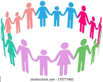 stick figures holding hands images stock photos vectors