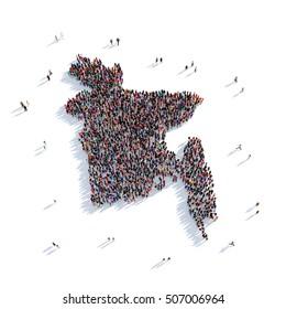 people group shape map Bangladesh