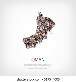 people map country Oman