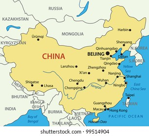 China Map Images, Stock Photos & Vectors | Shutterstock on
