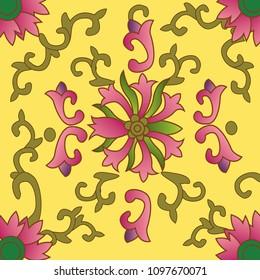Peranakan Tiles design