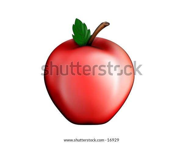 A perfect apple