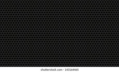 Perforated Metal Speaker Cover - Holes Metal Plate - Seamless Texture Background
