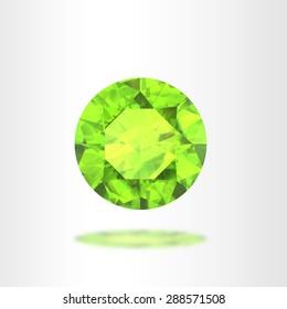 Peridot Diamond