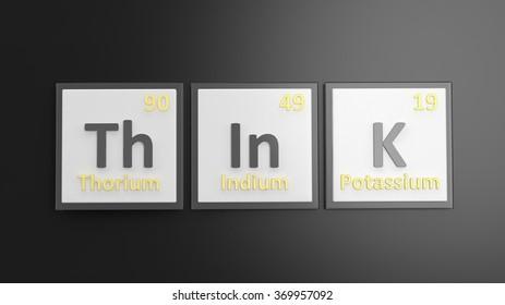 Periodic Table Elements Symbols Used Form Stock Illustration