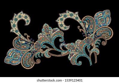 Persian pattern, carpet design, design with national characteristics