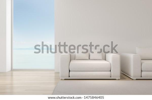 Perspective Modern Luxury Living Room White Stock Illustration 1475846405