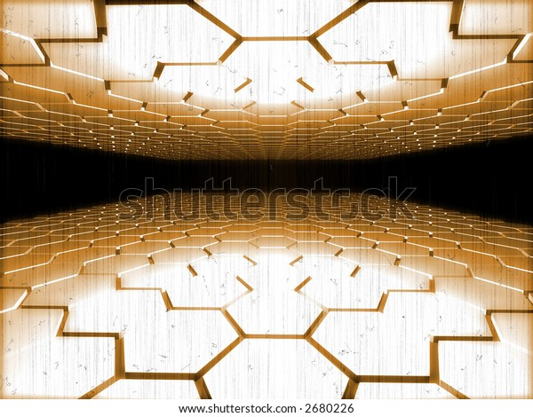 perspective_digital_scene_in_old_film_style