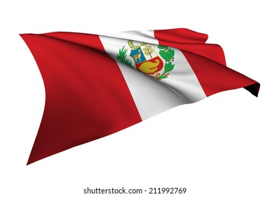 Peru flag - collection no_5