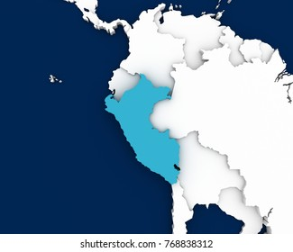 Peru On The World Map.Peru Map Images Stock Photos Vectors Shutterstock