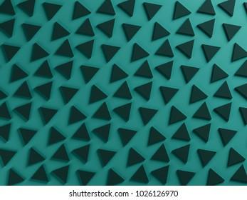 petrol green triangular textured background