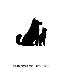 Pets, cat, dog icon. Simple glyph illustration of universal set icons for UI and UX, website or mobile application