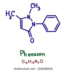 Phenazone is an analgesic, a nonsteroidal anti-inflammatory drug ( NSAID) and an antipyretic.