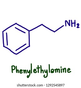 Phenethylamine (PEA) is an organic compound, natural monoamine alkaloid, and trace amine which acts as a central nervous system stimulant in humans
