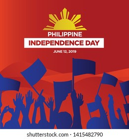Philippine Independence Day 2019 Vector