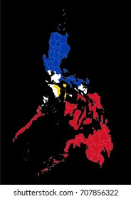 Philippines map. The Republic of the Philippine, is a sovereign island country in Southeast Asia situated in the western Pacific Ocean. The capital city of the Philippines is Manila.